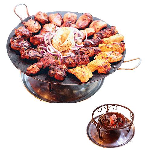 Шашлык на садже в ресторане Восточные Вечера в Балашихе