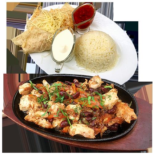 Куриный фахитос в ресторане Восточные Вечера в Балашихе